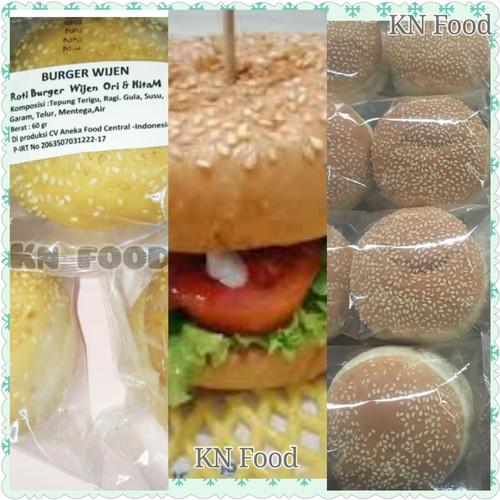 Foto Produk Roti Burger Wijen 1 Buah - Bun Burger Wijen Kirim GRAB GO JEK dari Rumah kebab