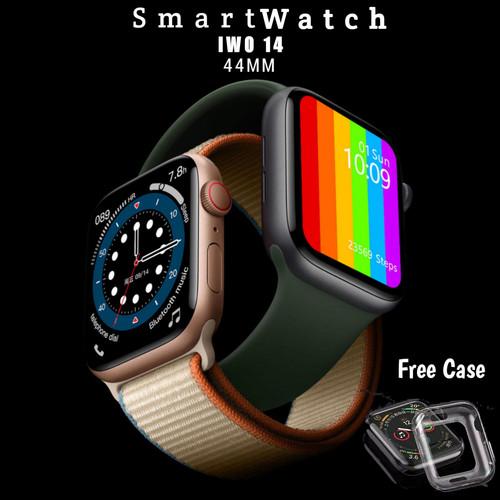 Foto Produk Smartwatch IWO 14 W66 FULL HD IPS COLOUR Komarakstore - Rose Gold, 44mm dari KomarakStoreS