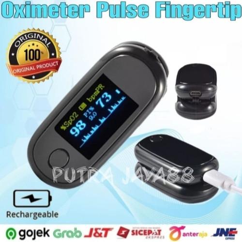 Foto Produk Oximeter fingertip oksimeter ukur detak jantung dari Putra Jaya88