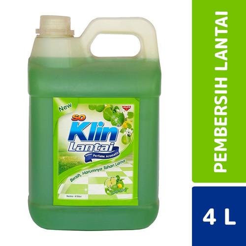 Foto Produk So Klin Lantai Fruity Apple 4 Liter dari Mesinlaundry