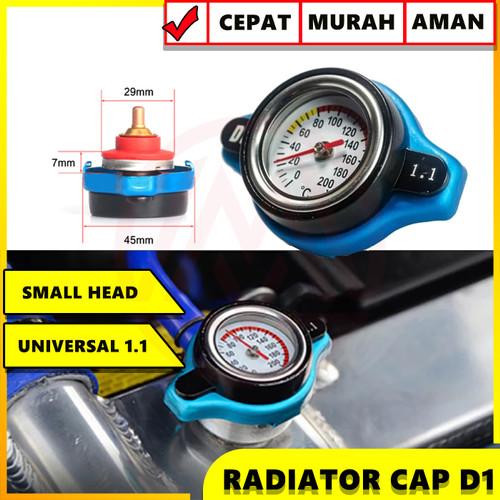 Foto Produk RADIATOR CAP D1SPEC THERMO TUTUP RADIATOR D1SPEC DENGAN INDIKATOR SUHU dari Modifikasi Market