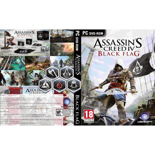 Foto Produk assassin's creed iv black flag - PC GAME 4DVD dari Homebase