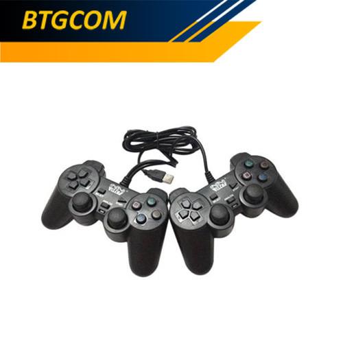 Foto Produk Welcom WE-830D Dual Gamepad Joystick Game PC Stick dari BTGCOM