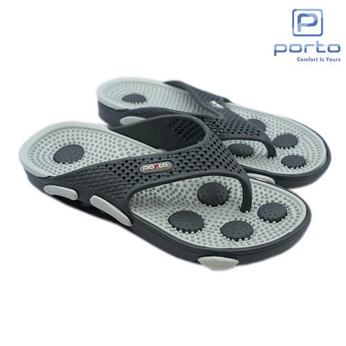 Foto Produk Porto - Sandal Pria Dewasa Terbaru Sandal Kesehatan Anti Slip 618M - RANDOM, 42 dari Porto Footwear