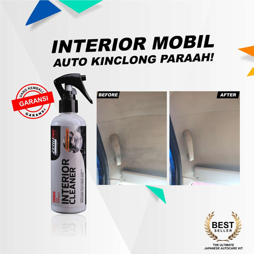 Foto Produk Pembersih Interior Mobil Jok Dashboard ZERONE INTERIOR CLEANER dari Zerone Japan Online