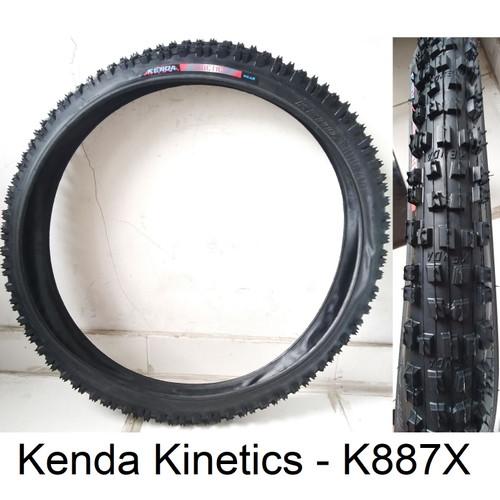 Foto Produk Ban Luar Sepeda 26 x 2.35 235 Kenda Motif Off-Road - Model Fat - Kinetics-K887X dari piPIT STOP