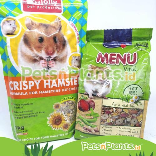 Foto Produk Vitakraft Menu Makanan Hamster 1 Kg Import - RANDOM, EXP 6-12 BLN dari PetsNPlants.ID