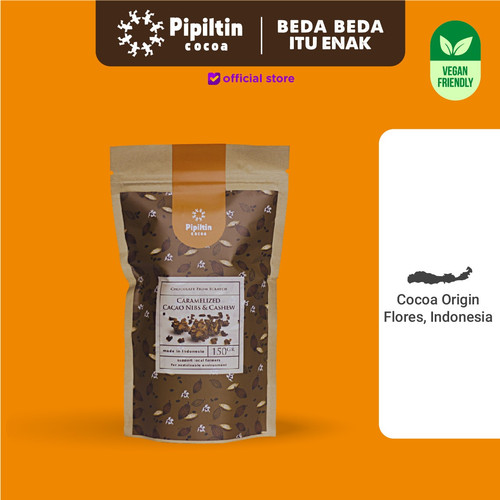 Foto Produk Caramelized Cacao Nibs & Cashew dari Pipiltin Cocoa