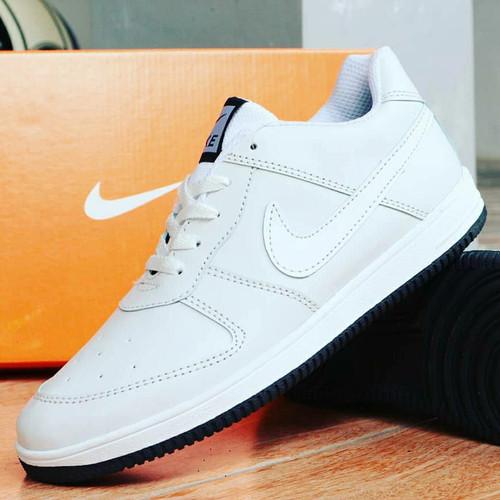 Foto Produk Sepatu Nike Airforce Full Putih/Nike Air Force Full White dari KuyindShop