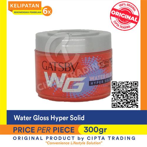 Foto Produk Hair Gel - Gatsby - Water gloss hyper solid bottle 300g dari Cipta Trading