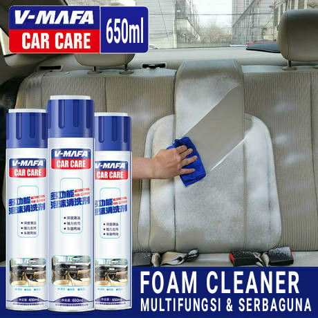 Foto Produk V MAFA CAR CARE VMCCO Foam Cleaner Multifungsi Mobil Motor Rumah - 650ml dari THINKSTRIKE