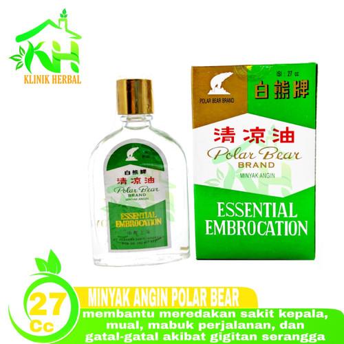 Foto Produk Minyak Angin Polar Bear Brand 27cc - Minyak Gosok Polar Bear dari Klinik Herbal 888