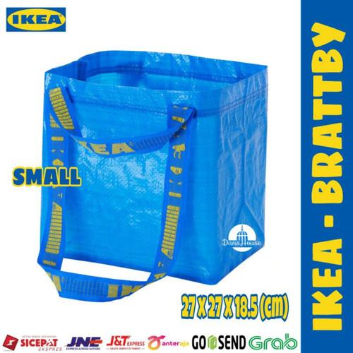 Foto Produk Tas Belanja Serbaguna Tas Laundry Kantong Belanja Go Green FR4KT4 IKE4 - SMALL (BRATTBY) dari Toko El-Bassam
