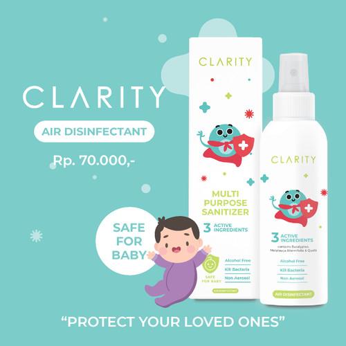 Foto Produk Clarity Air Disinfectant Spray 100 ml non Alkohol Aman untuk bayi dari Clarity Air Disinfectant Offical