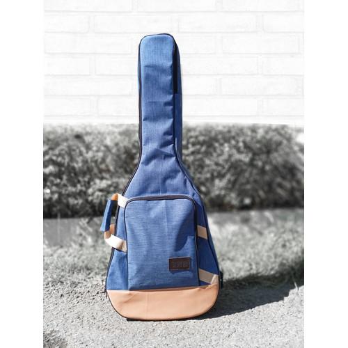 Foto Produk New Tas Gitar Akustik Bahan Denim Softcase Gitar Sarung Gitar / tgd - TGD dari _OMAHKREASI