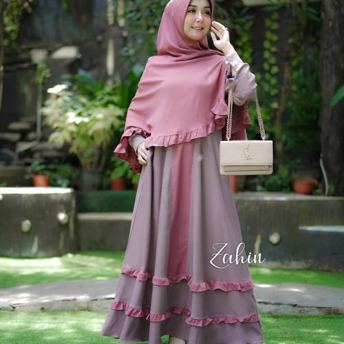 Foto Produk Gamis Mayra Syari original Zahin dari jualan_baju