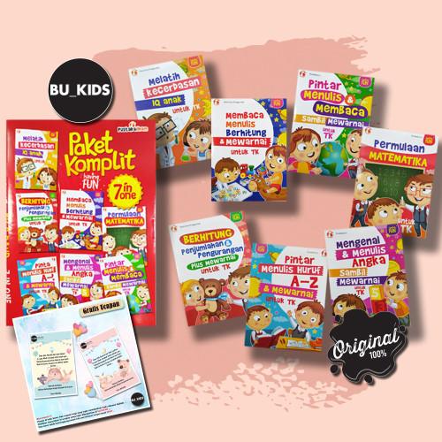 Foto Produk BUKU ANAK TK & PAUD ; PAKET KOMPLIT HAVING FUN 7 IN 1 [BEST SELLER] dari Bu_kids