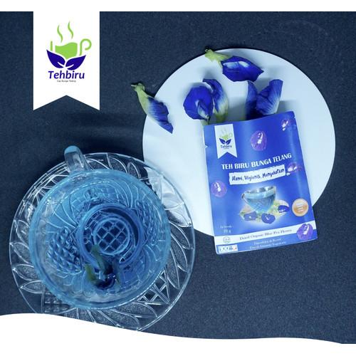 Foto Produk Bunga Telang Kering Organik dari oriflakesjogja
