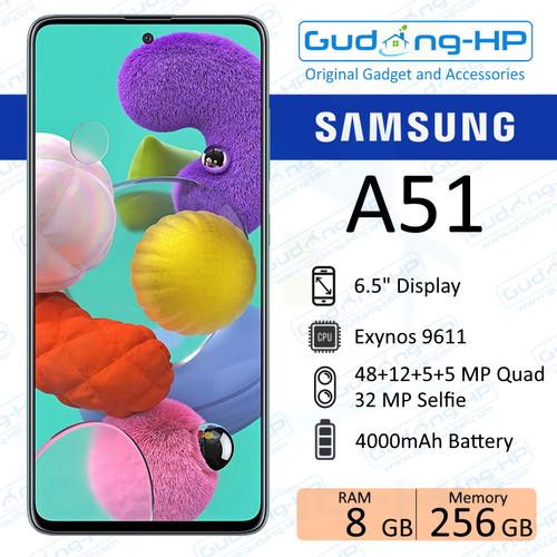 Foto Produk Samsung Galaxy A51 8/256 GB Garansi Resmi - Haze Silver dari Gudang-HP