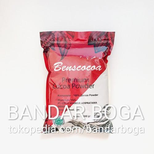 Foto Produk 1kg Coklat Bubuk murni Cacao Powder Bens Cocoa dari Bandar Boga