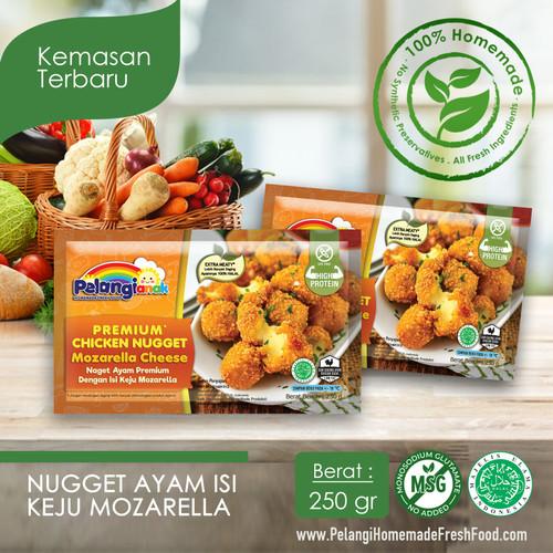 Foto Produk Nugget Ayam Filling Mozarella dari PELANGI HEALTHY FROZEN FOOD OFFICIAL