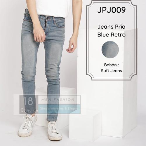 Foto Produk Soft Jeans Blue Retro Whisker / Pull & Bear Jeans / Celana Jeans Pria - Blue Retro, 30 dari 18COLLECTION