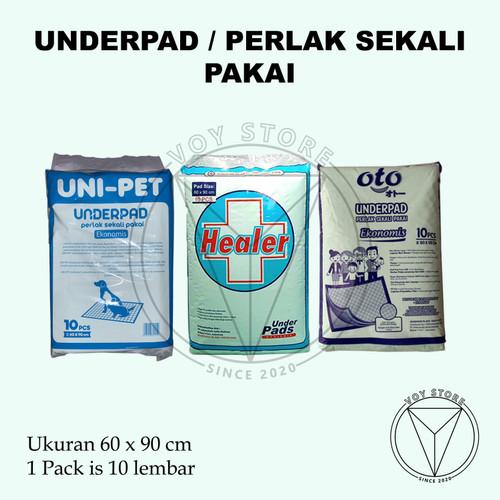 Foto Produk Underpad / Perlak Sekali Pakai / Alas Ranjang HEALER OTO UNIPET - UNIPET dari Voy Store