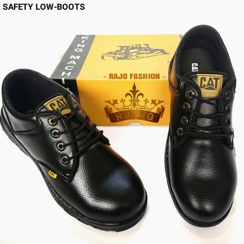 Foto Produk Sepatu Safety Pendek Caterpillar - Sepatu Kerja Industri Safety dari RaJo Fashion Store