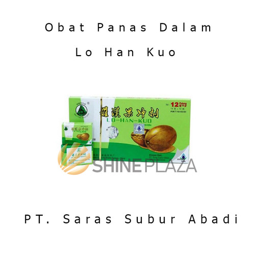 Foto Produk Lo Han Kuo Infusion 12' - Obat Batuk Radang Panas Dalam Lohankuo dari Shine Plaza