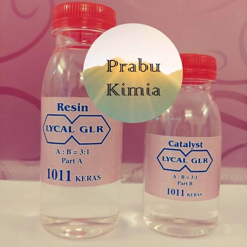 Foto Produk Resin Lycal 1011 bening keras paket 120gr dari Prabu Kimia