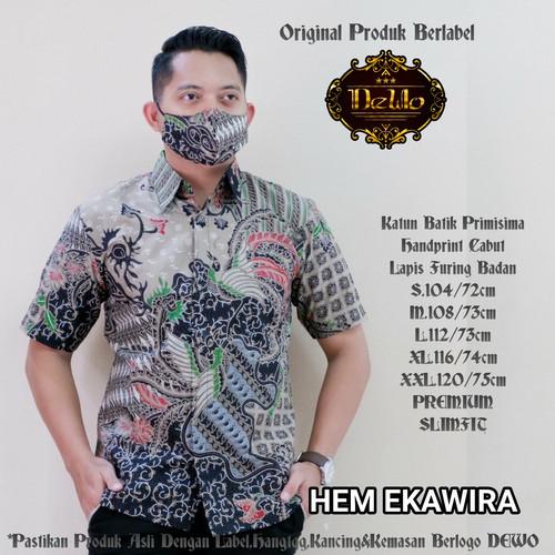 Foto Produk kemeja batik ekawirya slimfit dari Jivan Batik