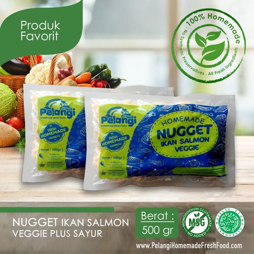 Foto Produk Nugget Salmon Sayur Premium dari PELANGI HEALTHY FROZEN FOOD OFFICIAL