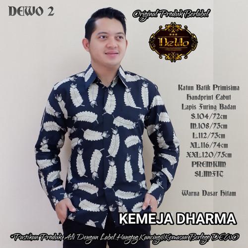 Foto Produk kemeja batik slimfit dharma premium dari Jivan Batik