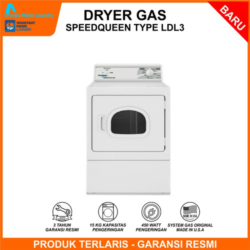 Foto Produk Mesin Pengering / Dryer Gas Speedqueen dari Sparepart Mesin Laundry