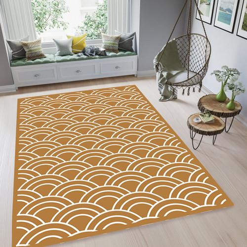 Foto Produk ARTSY - Karpet Damar Anti slip - 100 x 140 cm - Cokelat dari ARTSY OFFICIAL STORE