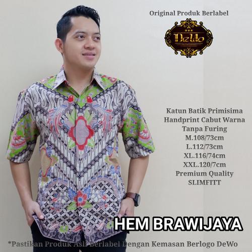 Foto Produk kemeja slimfit batik brawijaya premium dari Jivan Batik