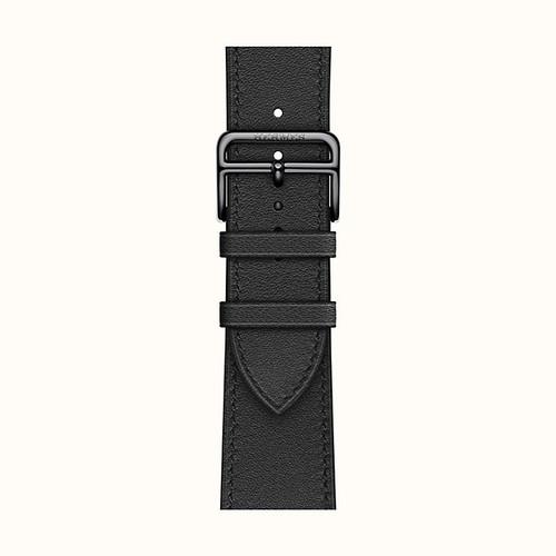 Foto Produk Strap Band Apple Watch Hermes Single Tour 44 mm / 44 mm Noir Swift dari Asnjo
