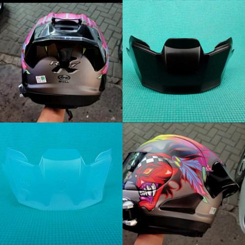 Foto Produk SPOILER HELM ARAI Rx7x , TSR, YAMAHA CARGLOSS DISFUSE - Putih dari Huna Faqot Helmet