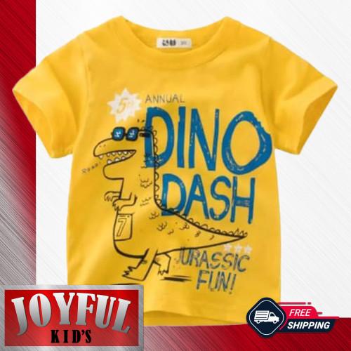 Foto Produk Baju Anak Laki-laki / Kaos Anak Laki-laki 0107 1 - 10 Tahun - 1 Tahun dari Joyful Kid's