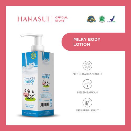 Foto Produk HANASUI HAND BODY LOTION MILKY dari Hanasui Official Store