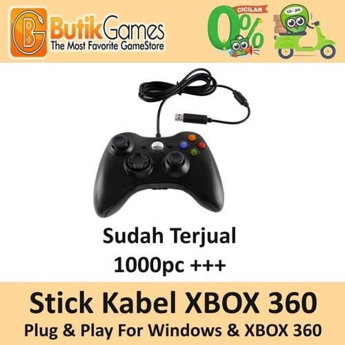 Foto Produk Stick Stik XBOX 360 Kabel Wired Controller dari Butikgames