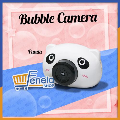 Foto Produk Bubble Camera (reject) mainan gelembung Elektrik + Lampu - PANDA dari Fenela shop