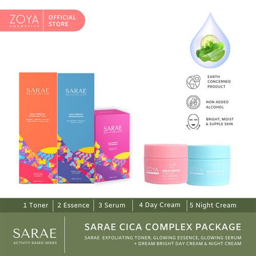 Foto Produk SARAE Cica Complex Package dari Zoya Cosmetics Official