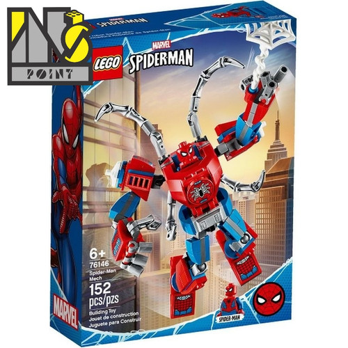 Foto Produk LEGO 76146 - Super Heroes - Spider-Man Mech dari Ins Point
