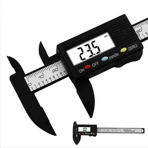 Foto Produk Caliper Jangka 150MM Alat Ukur Jangka Penguasa Cali Meter Sigmat Tool - Hitam Digital dari Rumix