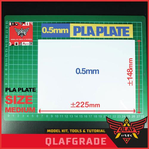 Foto Produk PLA PLATE SIZE M 0.5mm Size 220 x 152 mm dari Wahkhilaf