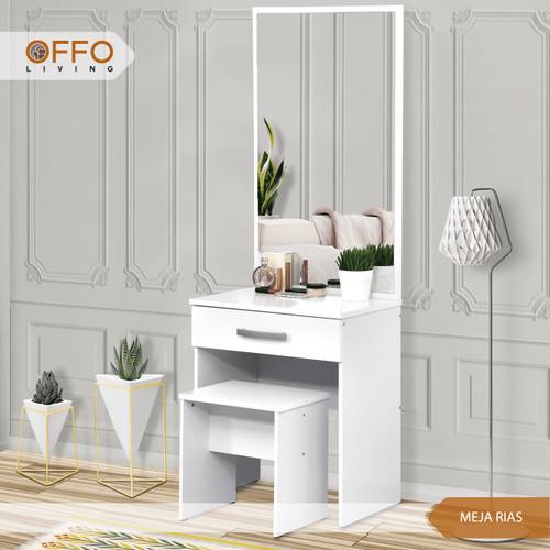 Foto Produk Meja Rias Putih Murah - ORC dari Offo Living