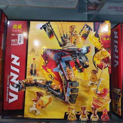 Foto Produk Lego Ninja Cobra 487pcs dari Chitatoy818
