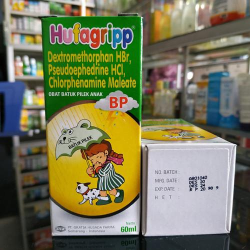 Foto Produk HUFAGRIP BP SYR 60 ML HIJAU dari PUTRI PHARMACY