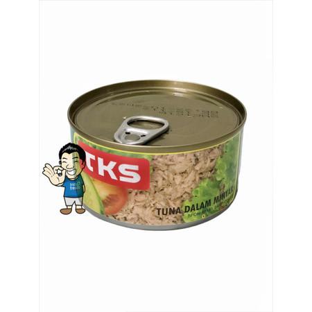 Foto Produk TKS Daging Ikan Tuna Kaleng- Tuna Flakes In Canned 185g dari IndoFresco